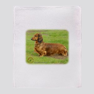 Dachshund 9R086D-033 Throw Blanket