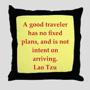Lao Tzu Throw Pillow