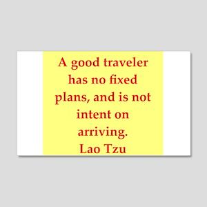 Lao Tzu 22x14 Wall Peel
