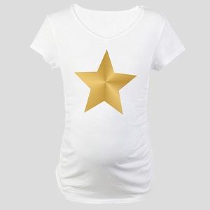 Gold Star Maternity T-Shirt