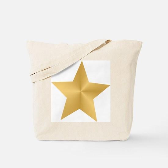 Gold Star Tote Bag