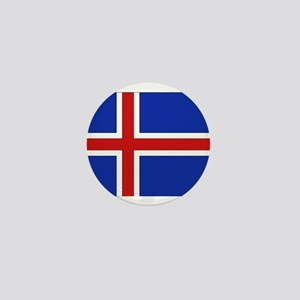 Flag of Iceland Mini Button
