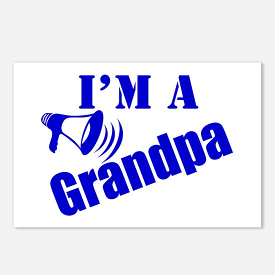 I'm A Grandpa Postcards (Package of 8)