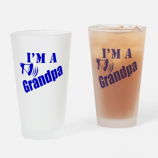 I'm A Grandpa Drinking Glass