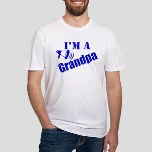 I'm A Grandpa Fitted T-Shirt