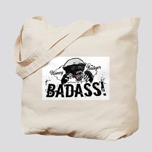 Honey Badger Badass Tote Bag