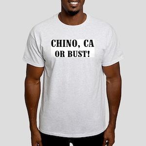 Chino or Bust! Ash Grey T-Shirt