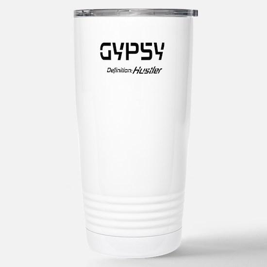 Gyspy Definition Stainless Steel Travel Mug