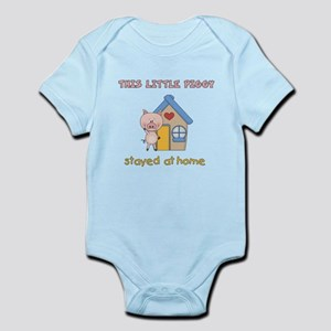 Piggy Stayed Home Infant Bodysuit