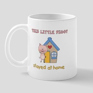 Piggy Stayed Home Mug