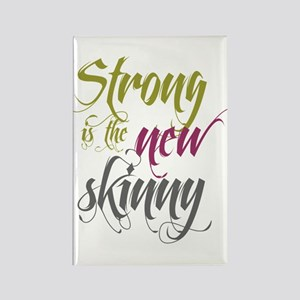 Strong is the New Skinny - Sc Rectangle Magnet