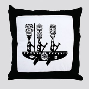 TO THE POWER Throw Pillow