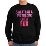 Sweat like a pig... Sweatshirt (dark)