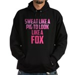 Sweat like a pig... Hoodie (dark)