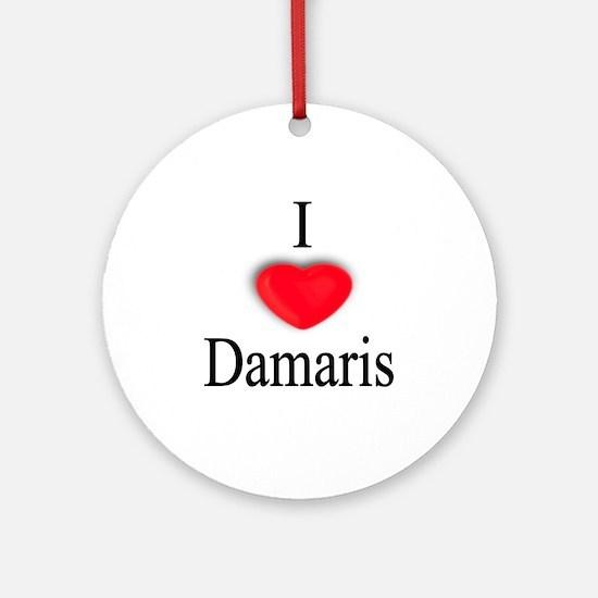 Damaris Ornament (Round)