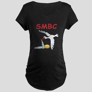 SMBC Stork Maternity Dark T-Shirt