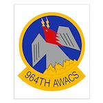 964th AWACS Small Poster