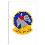 964th AWACS Large Poster