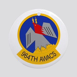 964th AWACS Ornament (Round)