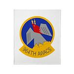 964th AWACS Throw Blanket