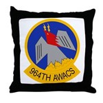 964th AWACS Throw Pillow