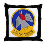 964th AWACS Throw Pillow