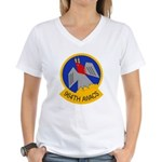 964th AWACS Women's V-Neck T-Shirt