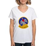 964th AWACS Women's V-Neck T-Shirt