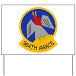 964th AWACS Yard Sign