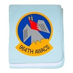 964th AWACS baby blanket