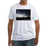 Summer Storm II Fitted T-Shirt