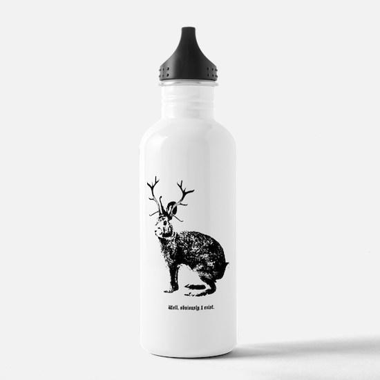 Jackalopes exist Water Bottle