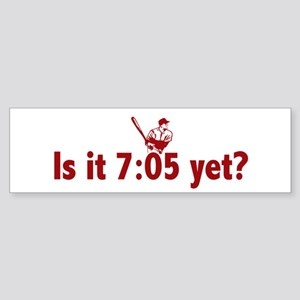 Is it 7:05 Yet? (Philly Baseball) Sticker (Bumper)