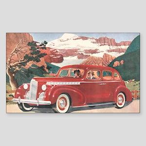 1940 Packard Rectangle Sticker