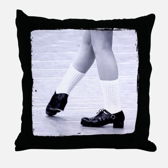 Ready & Now Go Irish Dance Throw Pillow
