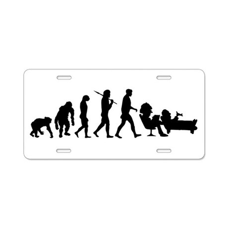 Psychologists Psychiatrists Aluminum License Plate