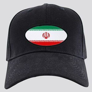 Iran Flag Black Cap