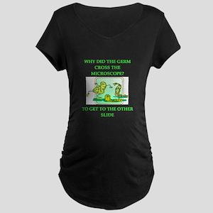biology joke Maternity Dark T-Shirt
