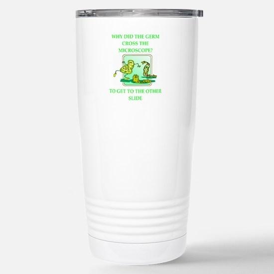 biology joke Stainless Steel Travel Mug