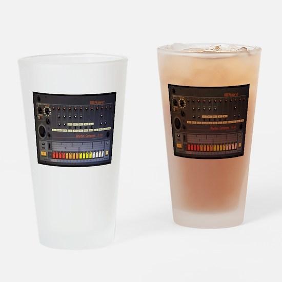808 BASS Drinking Glass