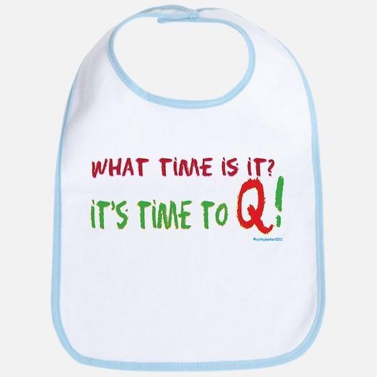 Time to Q Bib