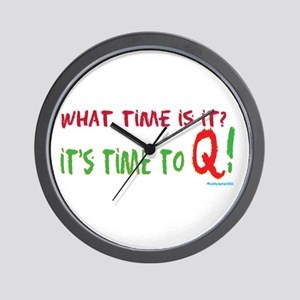 Time to Q Wall Clock
