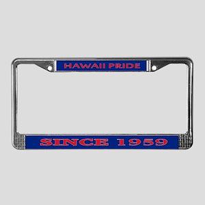Hawaii Pride License Plate Frame