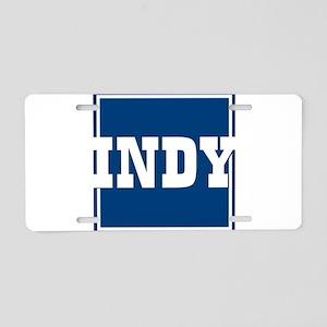 Indy Aluminum License Plate