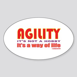Way of Life Sticker (Oval)