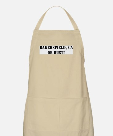 Bakersfield or Bust! BBQ Apron