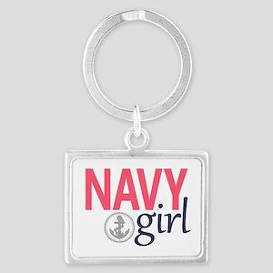 Navy Girl Keychains