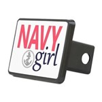Navy Girl Hitch Cover