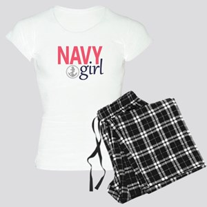 Navy Girl Pajamas