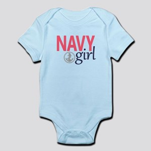 Navy Girl Body Suit